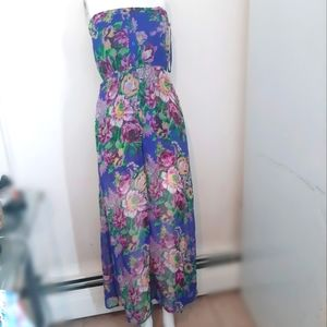 HOST PICK Strapless See through- maxi dress floral